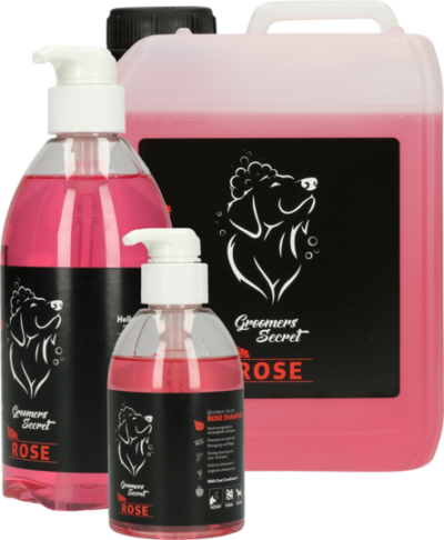 honden shampoo secret roze