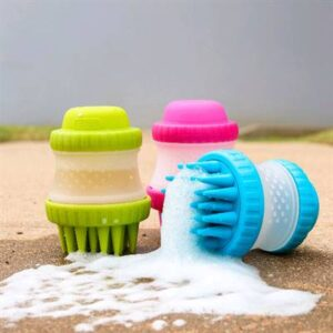 popware scrubsbuster shampoo en sborstel in 1