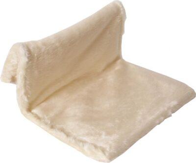 katten radiator hangmat ivoor wit