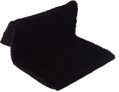 katten radiator hangmat zwart