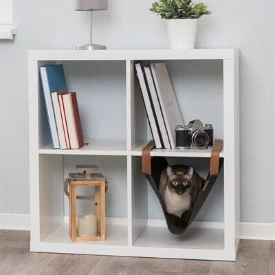 trixie hangmat voor je kat in je ikea kast