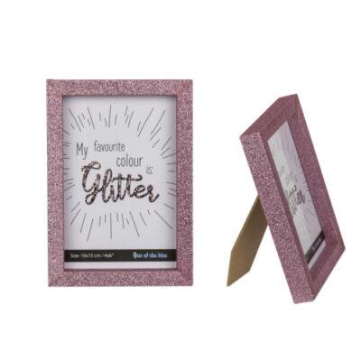 fotolijst glitter pink roze