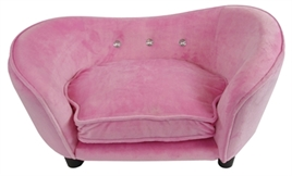 hondenbank enchanted roze