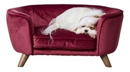 hondenbank enchanted wijnrood