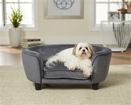 enchanted hondenbank grijs