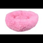 krems hondenmand roze