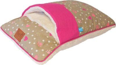 lief katten slaapzak roze